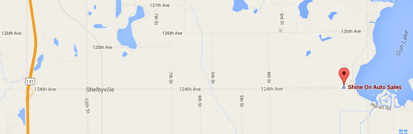 Map of 111 124th Ave, Shelbyville, MI 49344